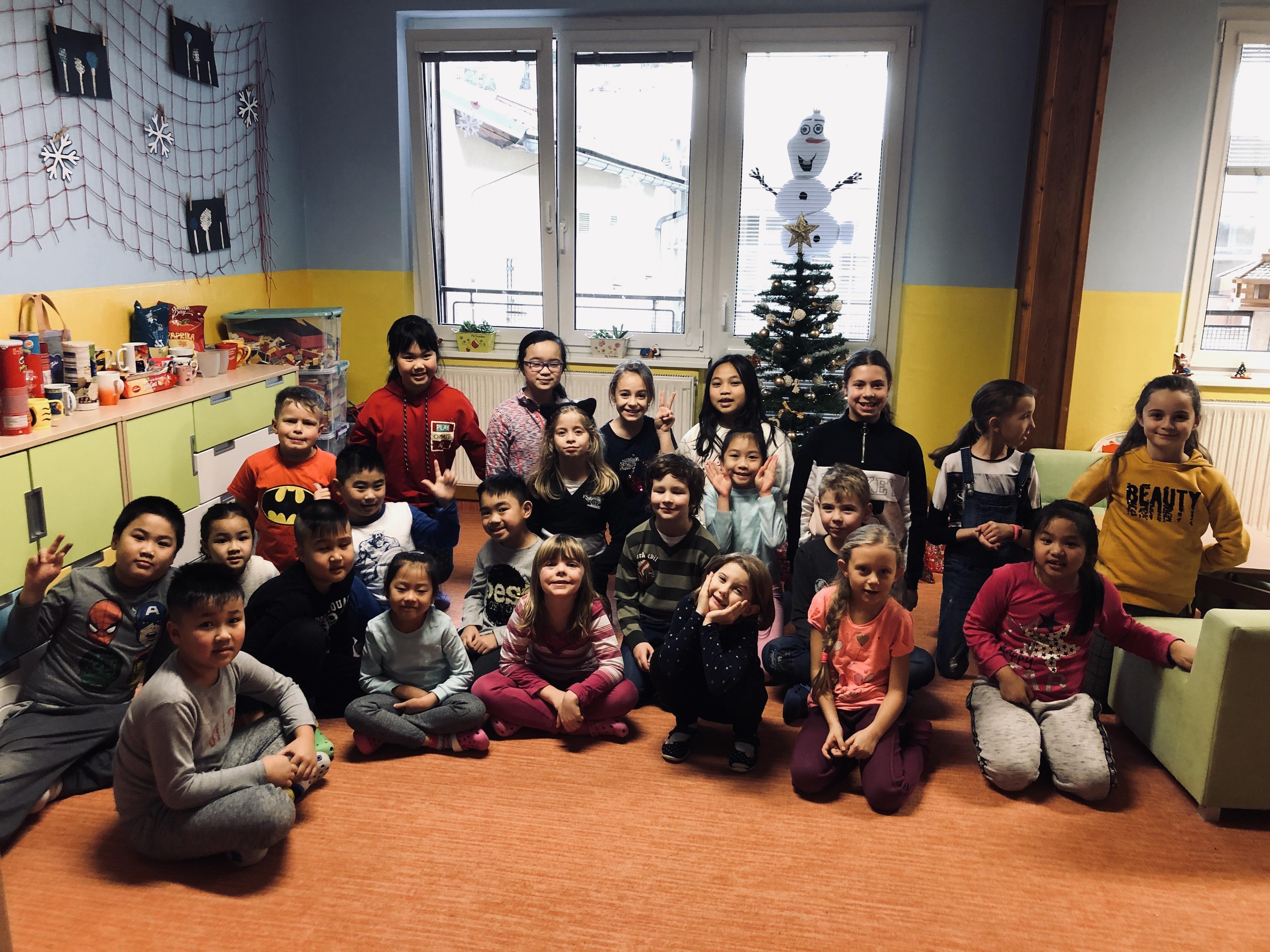 Vánoce ve školní družině 2019